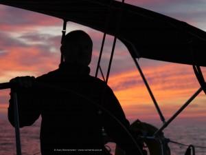 SY Windheuler - Beneteau First 40 -  Sonnenuntergang