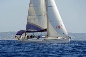 SY Windheuler - Beneteau First 40 - Vollzeug vor Formentera